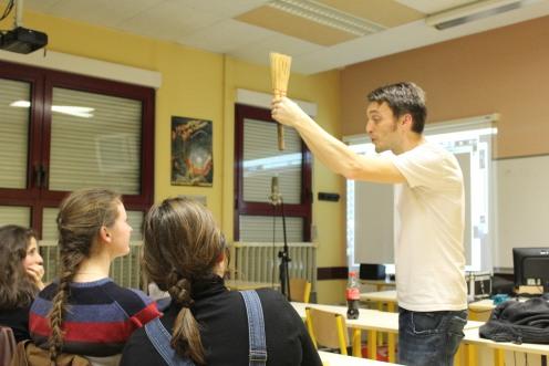 Atelier bruitages et doublage - Interv. JC Feldis